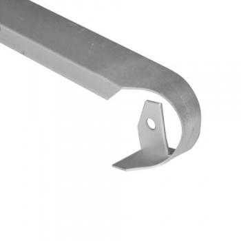 Ексцентрична лайсна за плот 28 мм обхващаща