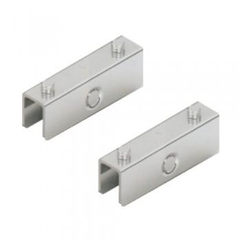 Механизъм за плъзгащи се стъклени врати с долно водене до 15 кг