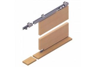Система за плъзгаща преградна врата с горно водене до 65 kg LC 65