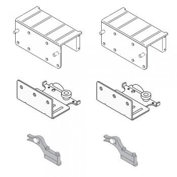 Механизъм за предна врата с горно водене до 65 kg Villes 2000