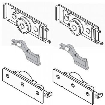 Механизъм за задна врата с горно водене до 65 kg Villes 2000