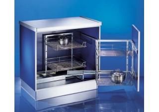 Кухненски механизми за вграждане хром FGV