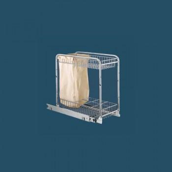 Двуетажна кошница с торбичка за шкаф 400