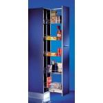 Многоетажен механизъм за шкаф 400 мм, височина 1310 - 1710 мм
