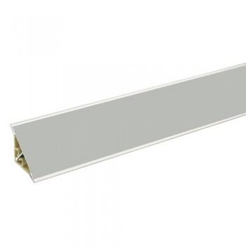 Водозащитна лайсна алуминиева гладка 29х29