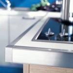 Борд за кухненски плот 40 мм от две части H60 мм