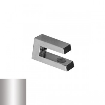 Държач за стъкло 4 - 10 mm, мат хром