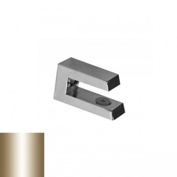 Държач за стъкло 4 - 10 mm, сатен